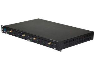 Dinstar DWG2000F-16G-M (встроенный антенный делитель 4-1)