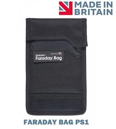 Экранирующий чехол для телефона Faraday Bag PS1